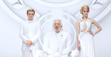 Jena Malone Josh Hutcherson Donald Sutherland The Hunger Games Mockingjay