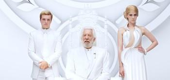 Jena Malone Josh Hutcherson Donald Sutherland The Hunger Games Mockingjay