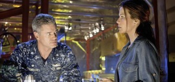 Eric Dane Rhona Mitra The Last Ship Trials