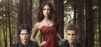 Nina Dobrev Paul Wesley Ian Somerhalder The Vampire Diaries