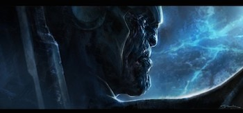 The Avengers Thanos Concept Art