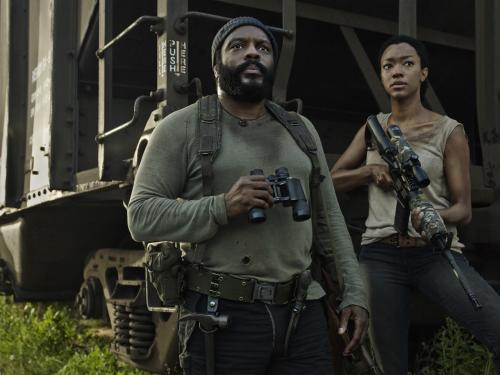 Chad L Coleman Sonequa-Martin Green The Walking Dead Season 5