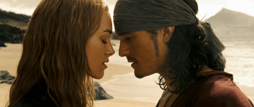 Orlando Bloom Kiera Knightley Pirates of the Caribbean At Worlds End