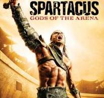 Spartacus Gods of the Arena DVD