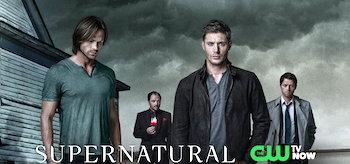 Supernatural TV Show Banner