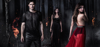 The Vampire Diaries Season 5 TV show poster