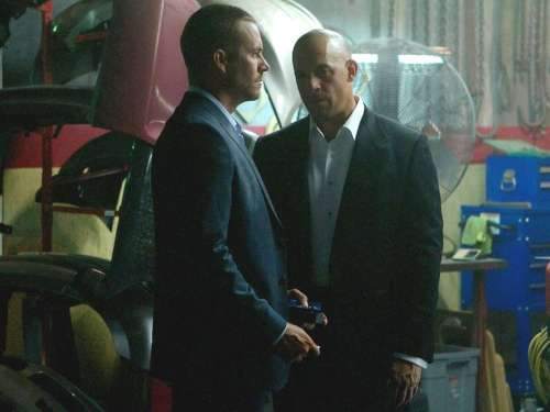Paul Walker Vin Diesel Fast and Furious 7