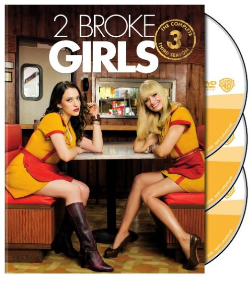 2 Broke Girls Season 3 Bluray