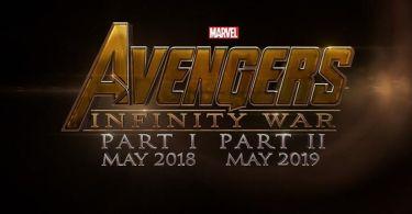 Avengers Infinity War Part 1 Part 2 Logo