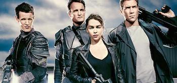 Emilia Clarke Matt Smith Jai Courtney Jason Clarke Terminator Genisys  Entertainment Weekly November 7 2014