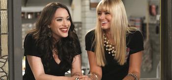 Kat Dennings Beth Behrs 2 Broke Girls Season 3