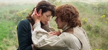 Caitriona Balfe Jamie Fraser Sam Heughan Outlander Both Sides Now