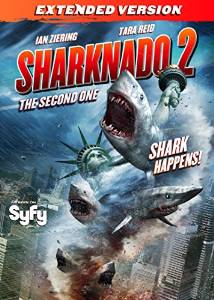 Sharknado 2 The Second One DVD
