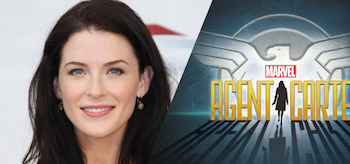 Bridget Regan Agent Carter Logoi