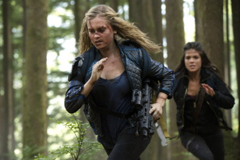 Eliza Taylor Marie Avgeropoulos The 100 Human Trials