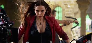 Elizabeth Olsen Avengers Age of Ultron