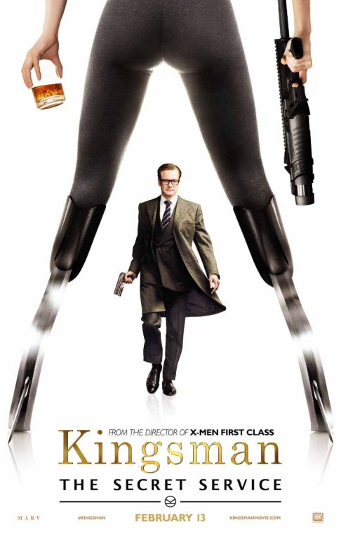 Colin Firth Sofia Boutella Kingsman: The Secret Service