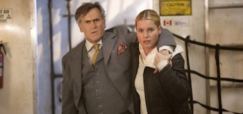 Bruce Campbell Rebecca Rominj The Librarians