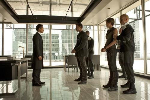 Daniel Dae Kim Theo James Shailene Woodley The Divergent Series Insurgent