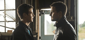 Grant Gustin Stephen Amell The Flash