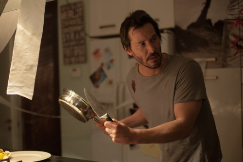 Keanu Reeves Knock Knock