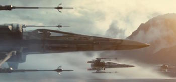 XWing Fighters Star Wars The Force Awakens