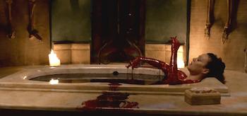 Helen McCrory Blood bath Penny Dreadful Season 2