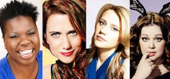 Melissa McCarthy Kristen Wii Kate McKinnon Leslie Jones