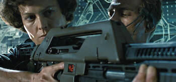 Sigourney Weaver Michael Biehn Aliens