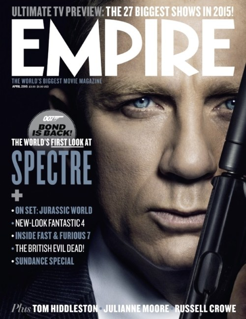 Spectre Empire Magazine Cover April 2015