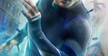 Aaron Taylor-Johnson Quicksilver Avengers Age of Ultron Movie Poster