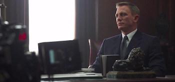Daniel Craig Spectre Set