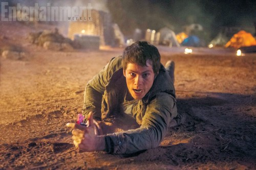 Dylan O'Brien Maze Runner The Scorch Trials