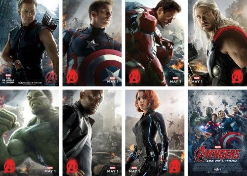 Avengers Age of Ulton Movie Posters