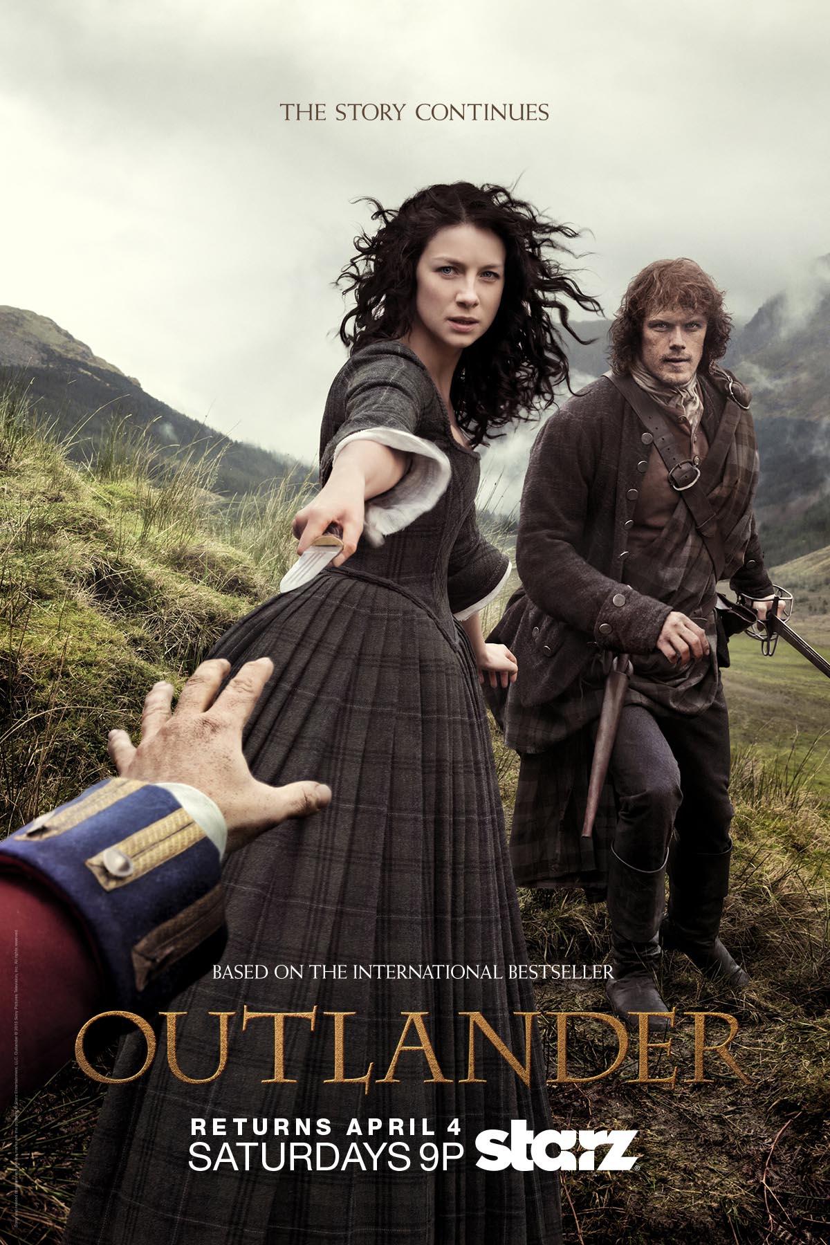 International cinema clips website 01 11 - Outlander Season 1 Part 2 Tv Show Poster