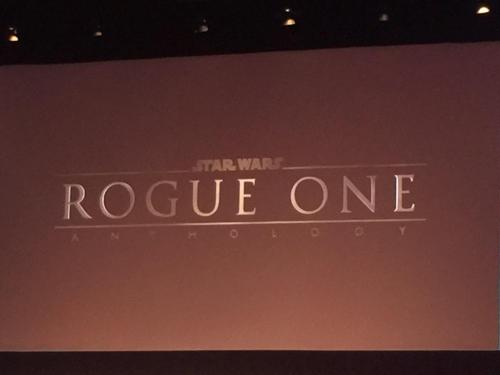 Star Wars Anthology Rogue One Logo