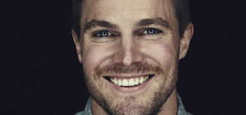 Stephen Amell Smiling