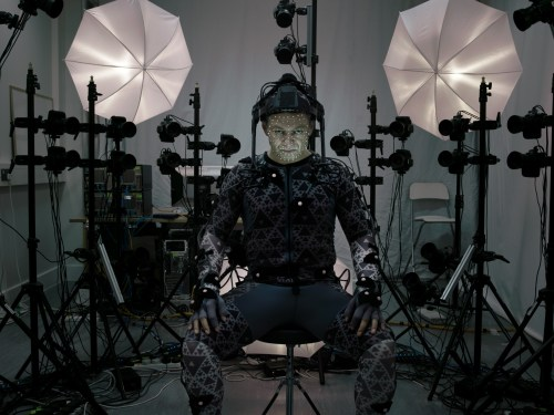 Andy Serkis Star Wars The Force Awakens Set
