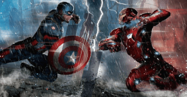 Captain America Iron Man Captain America Civil War Promo Art
