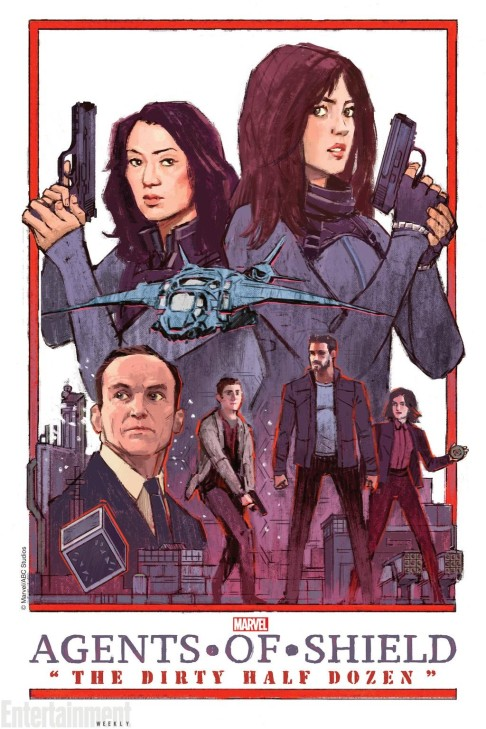 Jake Wyatt Agents of S.H.I.E.L.D. The Dirty Half Dozen