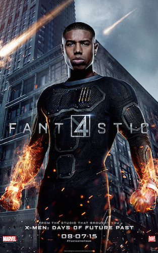Michael B. Jordan Johnny Storm Fantastic Four