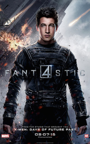 Miles Teller Reed Richards Fantastic Four