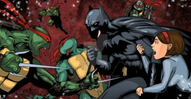 TMNT vs Batman by Pat Gleason & Anmph