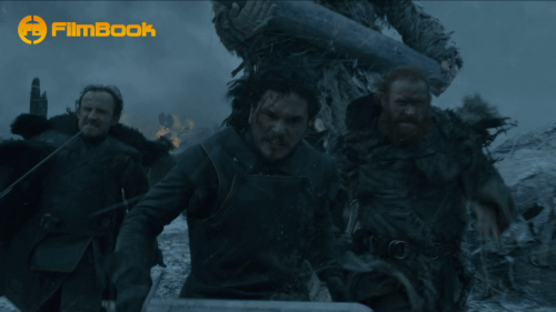 Ben Crompton Kit Harington Kristofer Hivju Game of Thrones Hardhome