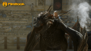 Emilia Clarke Riding Drogon Game of Thrones The Dance of Dragons