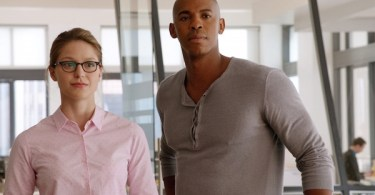 Melissa Benoist Mehcad Brooks Pilot Supergirl