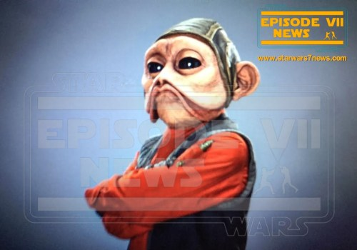 Nien Nunb Star Wars The Force Awakens