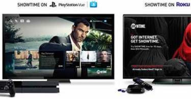 Showtime Internet Streaming Service Roku Playstation