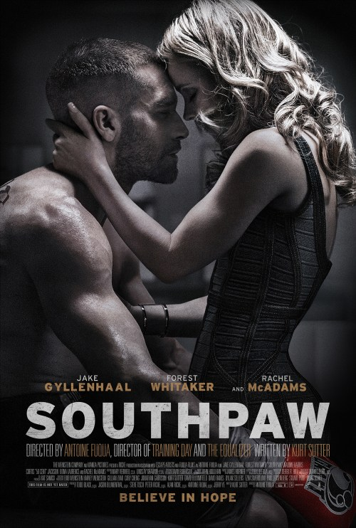 Southpaw movie poster 2