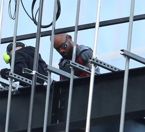 Will Smith Suicide Squad Deadshot BTS